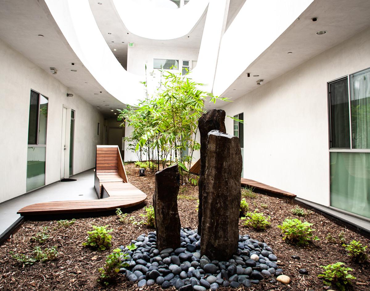 Interior Garden at Mariposa