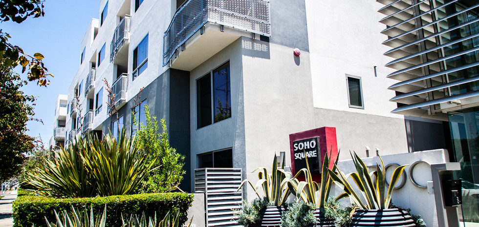 Sawtelle Condo Entrance