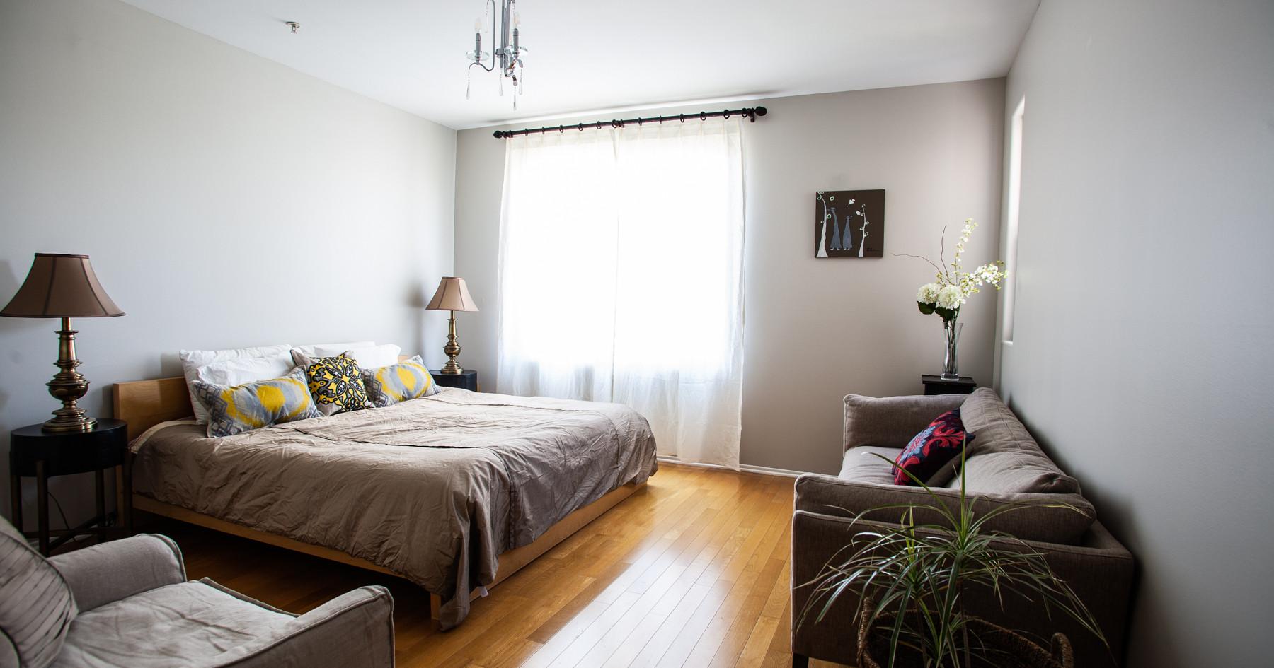 Master Bedroom at 1st Street