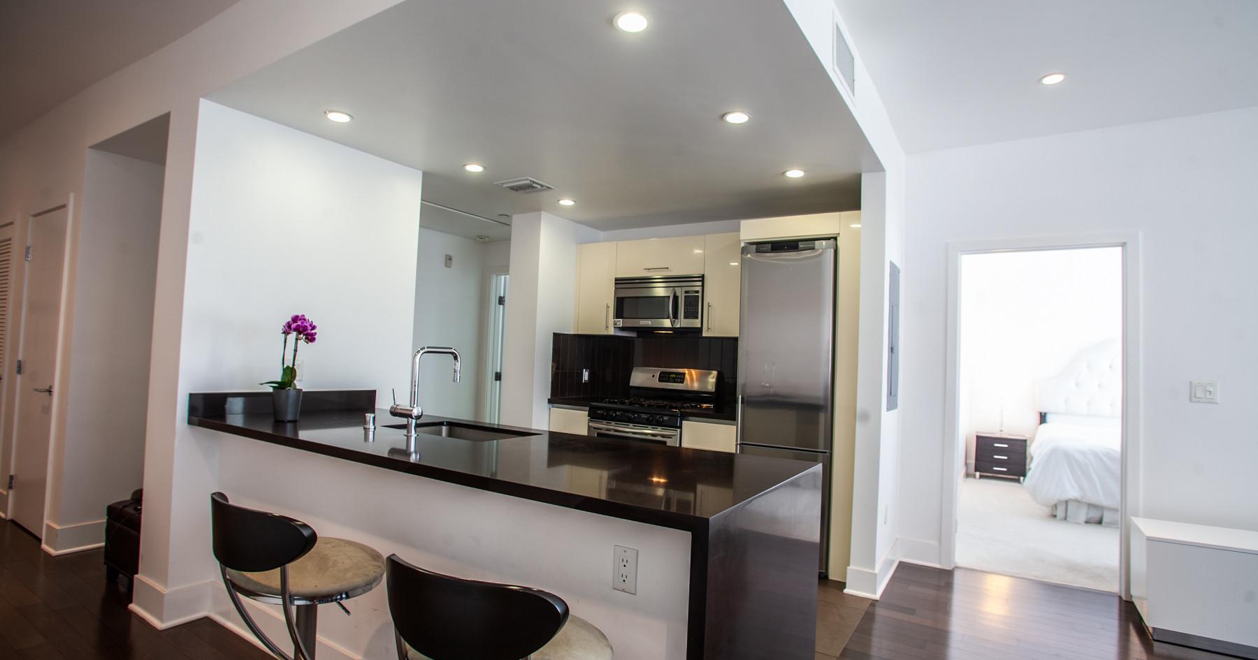 Sawtelle Condo Kitchen
