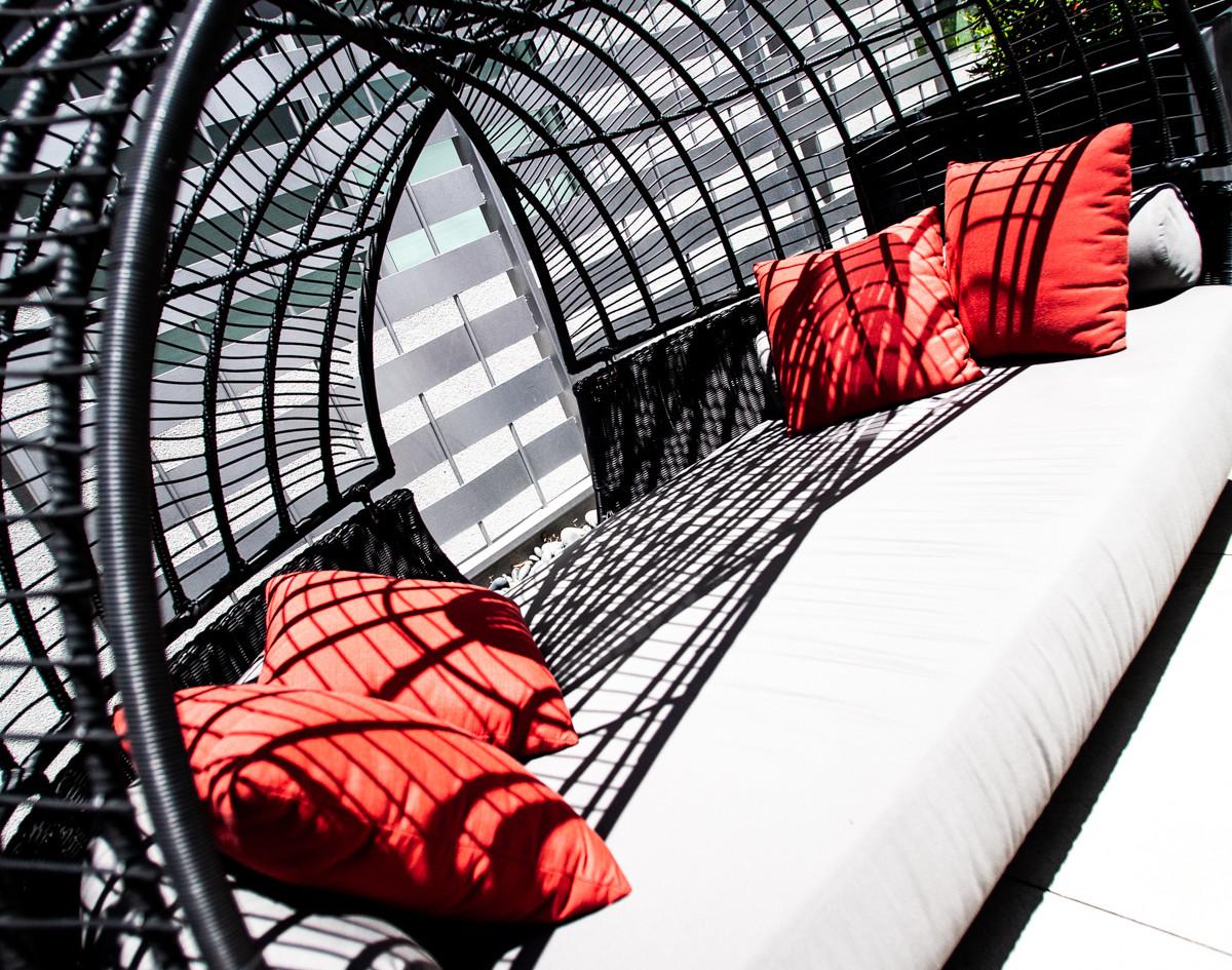 Sawtelle Condo Outdoor Lounge Area
