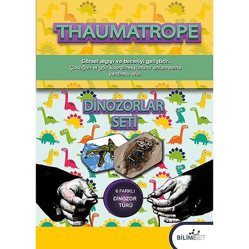 Thaumatrope Setleri: Dinozorlar