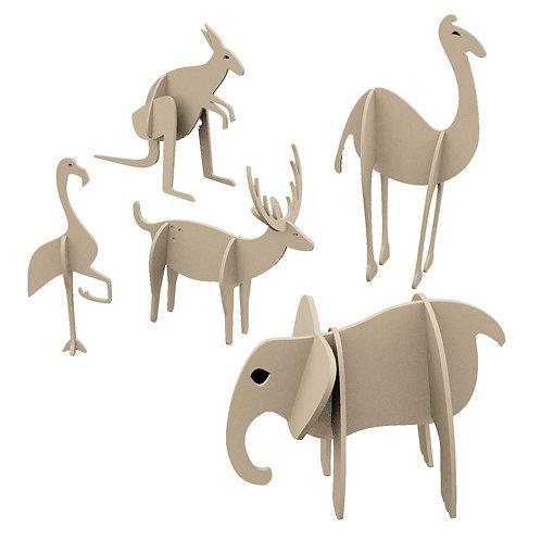 Ecor Oyuncaklar: Vahşi Hayvanlar