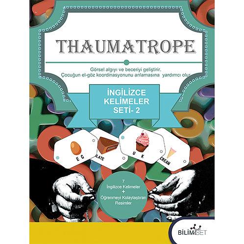 Thaumatrope Setleri: İngilizce Kelimeler -2