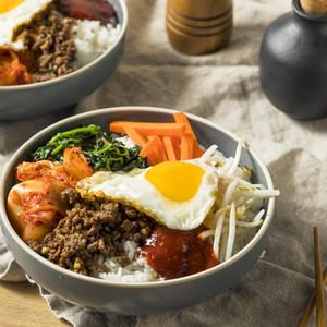 Bibimbap (K-Rice Bowl)