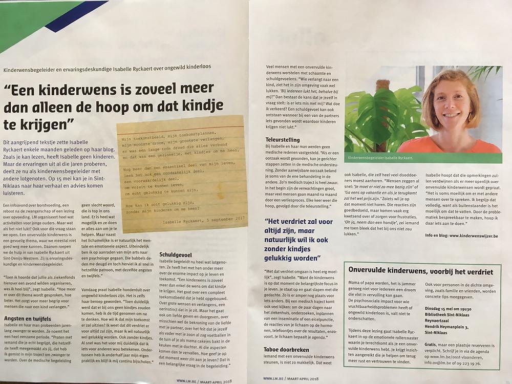interview in LM-magazine