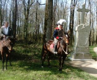 """Présentation des costumes de """"La Vendée historique à cheval"""" - La Chabotterie - 23 mars 20"""