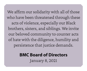 BMC Response to Mob Violence in Washington, D.C.