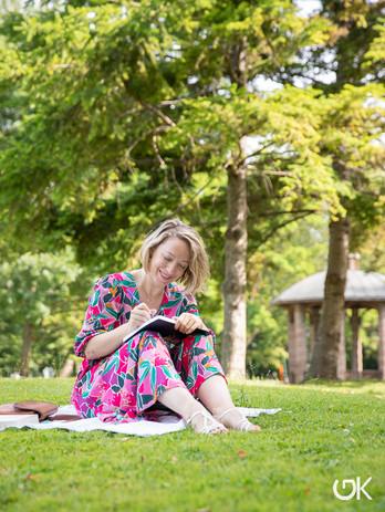 Portrait au parc