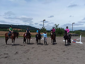 Eventng Jumping Clinic Stephanie Paker Inavale Farm Oregon