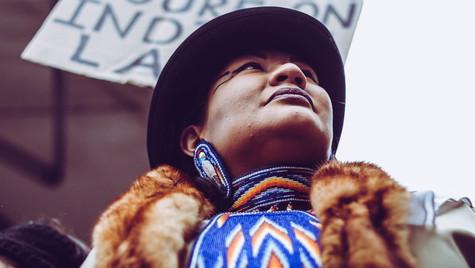 3. Indigenous woman