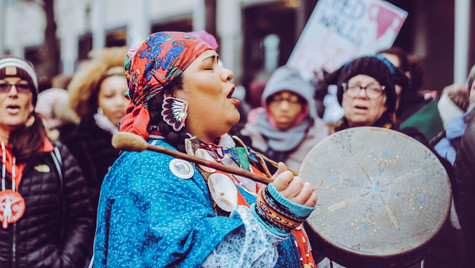 1. Leader of the indigenous group spotlighting #mmiw (Missing and Murdered Indegenous Women)