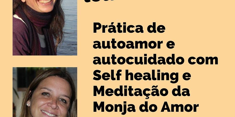LIVE com Araci Onghero: Prática de Self-Healing e Meditação