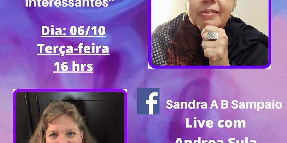 LIVE falando sobre Relaxamento e Self-Healing, com Andréa Sula
