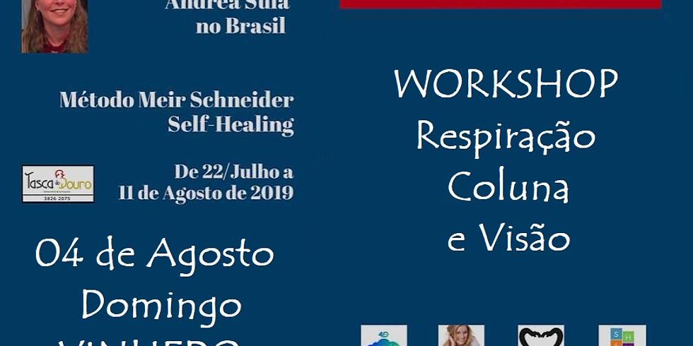 VINHEDO (fechado): WORKSHOP: Respiração, Coluna e Visão