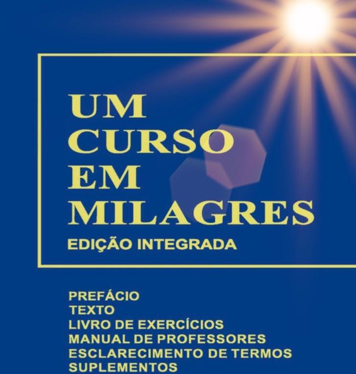 Grupo de Estudos Online Gratuito - Livro: Um Curso em Milagres