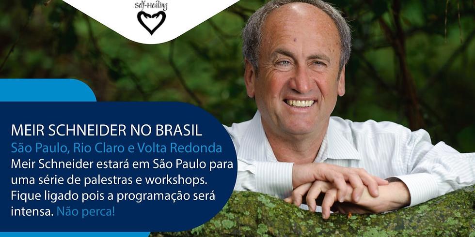 PALESTRA GRATUITA c/ Meir Schneider em SÃO PAULO - SP