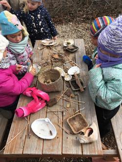 Winter outdoor classroom 2017