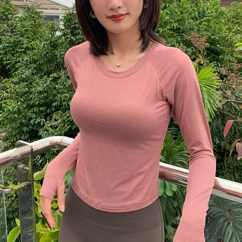 堅強女孩的柔感瑜加服(粉)