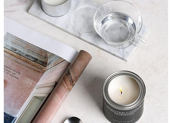 Aroma Minimalist Candle B/W