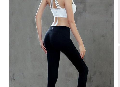 塑身高腰高彈絕對瘦瑜加褲(黑)