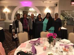 Pastor Chris with Covenant Ladies Americ