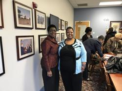 Pastor Chris with Dr Barbara Skinner UPM