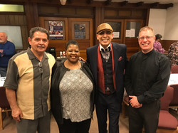 Pastor Chris with Dr Gabe Felix and Joe