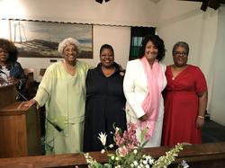 Pastor Chris with Dr Cecelia Williams Re