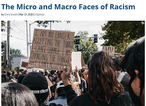 The Micro and Macro Faces of Racism Arti