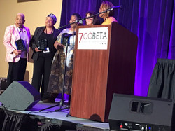 Pastor Chris with CBA Women Pastors Rece