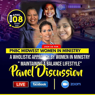 PNBC MWR Women in Ministry Panel with Dr