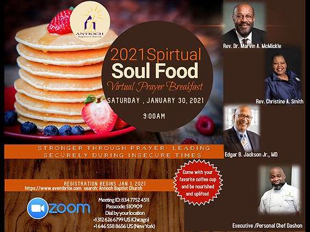 Antioch Prayer Breakfast Jan 30th 2021 P