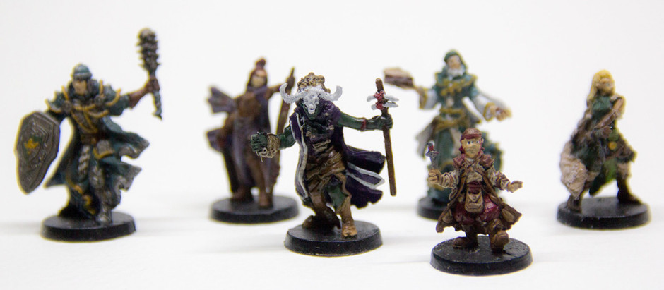Descent 2E | Painting the Heroes