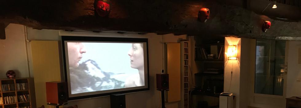 la video-projection