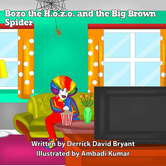 Cover page - Bozo the Hozo and Big Brown Spider.jpg