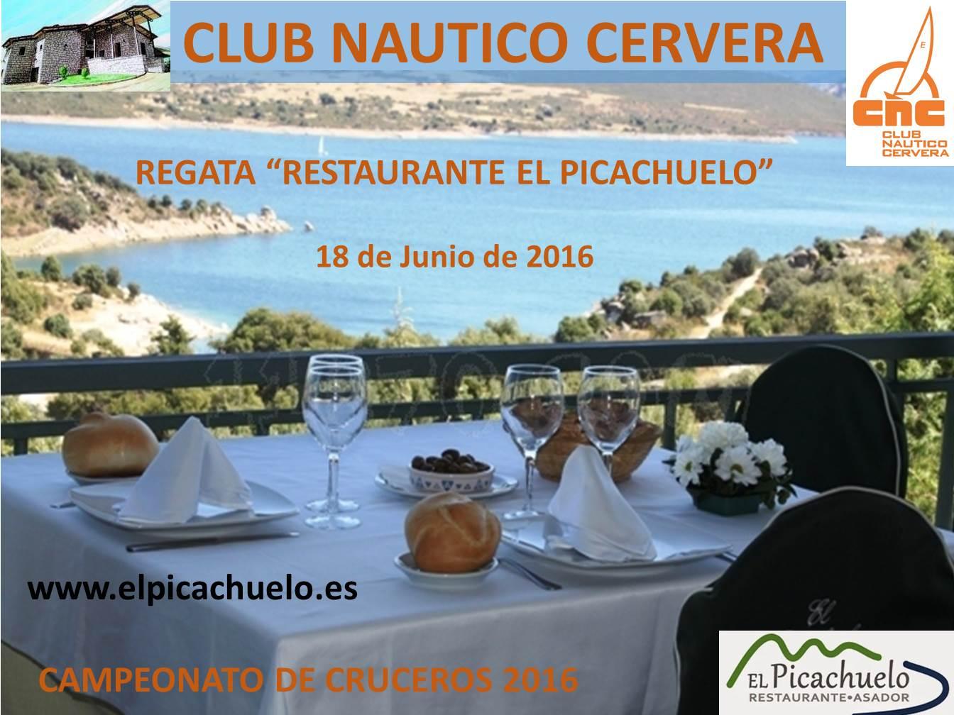 Cartel Regata El Picachuelo