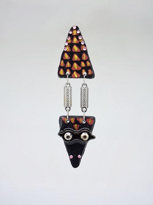 Alligator Earrings