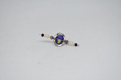 Purple Climber Earrings