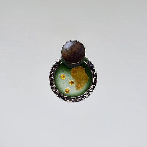 Small Abalone Shell Earrings