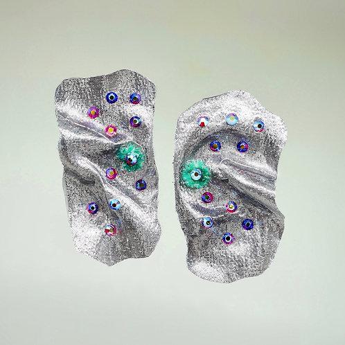Disco Flower Earrings