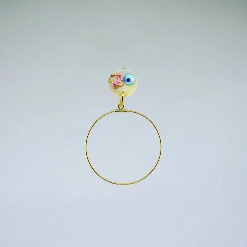 Mini Post Angel Earrings