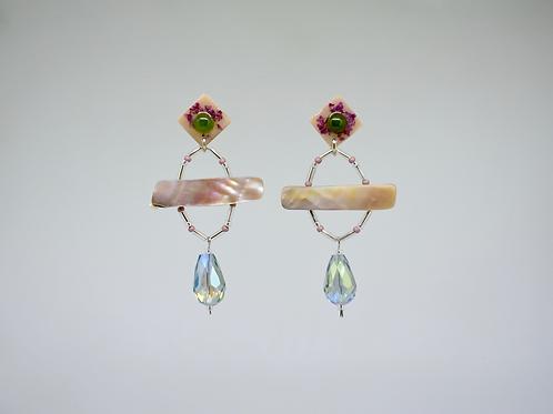 Jade, Glass, Shells, and Resin
