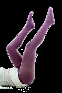 medias pantalon tejidas