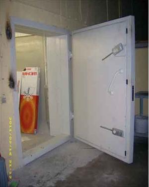 Kurşun Geçirmez Kapı