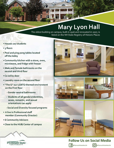 Plymouth State Residential Life