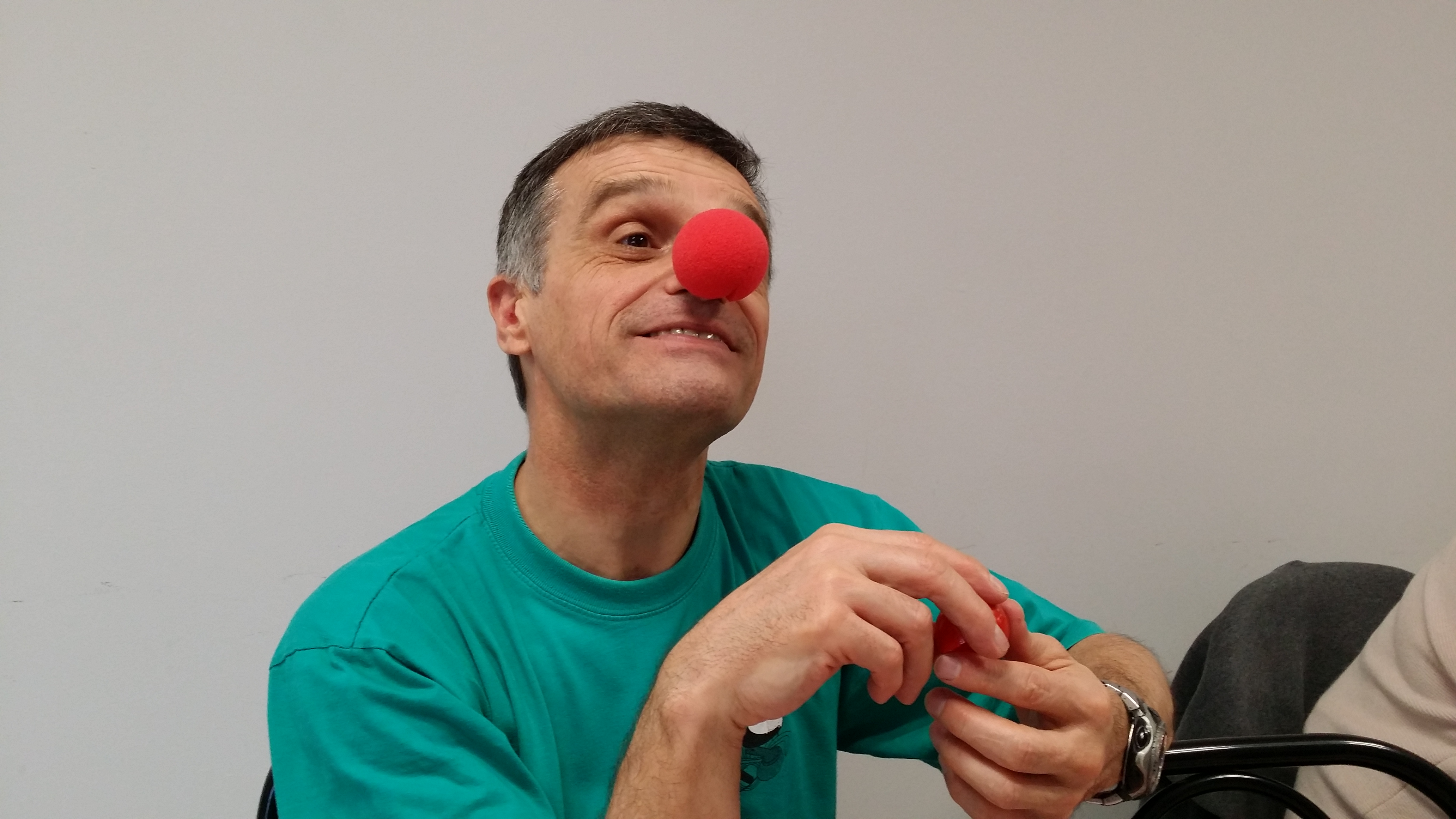 Alain, Clown à ses heures