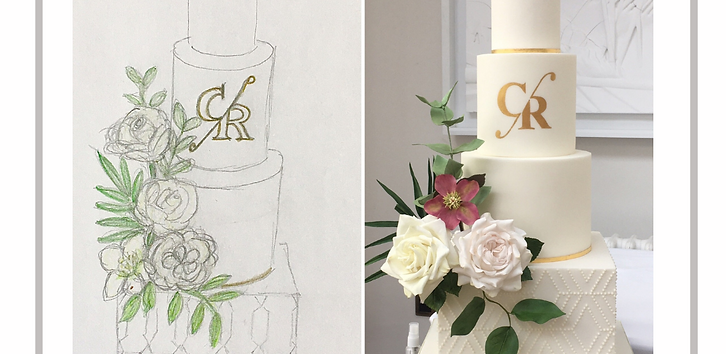 Online Night School 3 - Wedding Cake Sketch to Reality