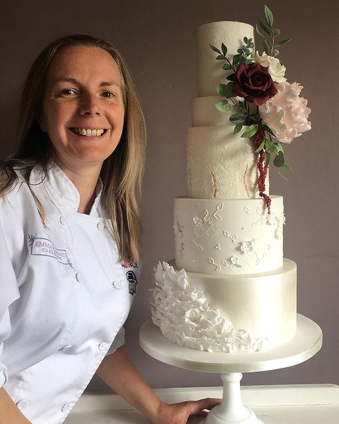 luxury wedding cake designer