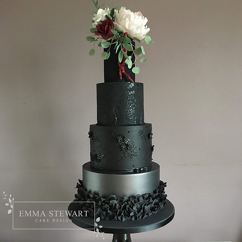 Online Night School 2 - Textures & Sugar Floral Wedding Cake